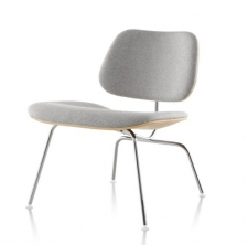 Eames? Molded Plywood Lounge Chair with Metal Legs