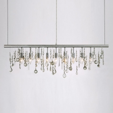 Crystal Linear Pendant Lamp